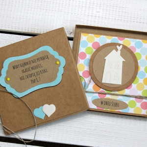 Kartka ślubna w pudełku (ks61)