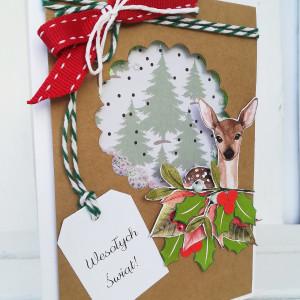 kartka świąteczna SARENKA