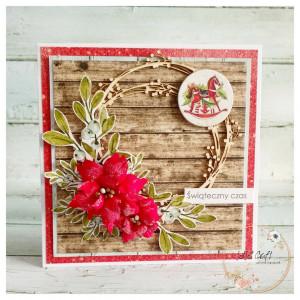 Kartka świąteczna w pudełku #11