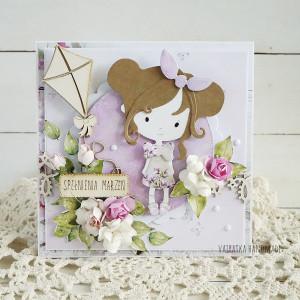 Kartka urodzinowa dla dziecka, na zamówienie