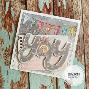 Kartka urodzinowa dla maluszka