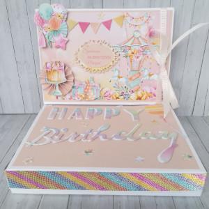 kartka urodzinowa KARUZELA