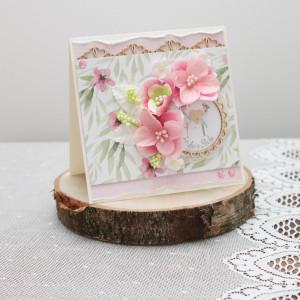 Kartka W Dniu Ślubu w pudełku