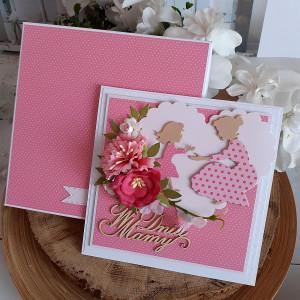 Kartka w pudełku dla Mamy