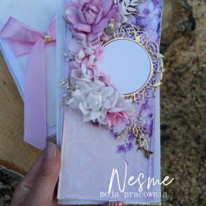 Kartka z kwiatkami