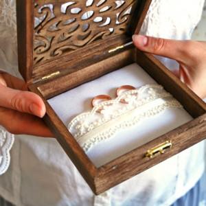 Kasetka na obrączki ślubne