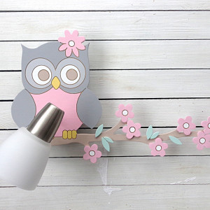 Kinkiet  lampka dla dziecka z sową