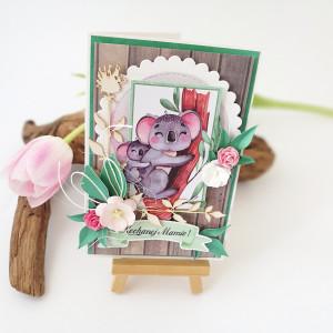 Koale- kartka dla Mamy