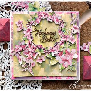 Kochanej Babci - kartka na Dzień Babci