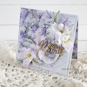 Kochanej Mamie, kartka w pudełku, 842