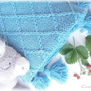Kocyk Amicus Blue