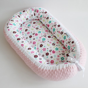 Kokon niemowlecy minky bawełna