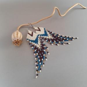 Kolczyki indiańskie #1309