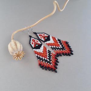 Kolczyki indiańskie #3
