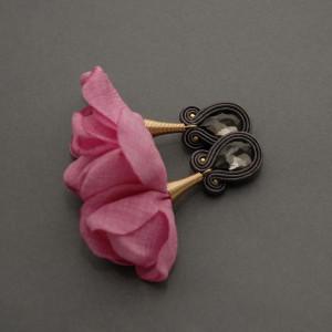 kolczyki / klipsy sutasz z kwiatkiem 76