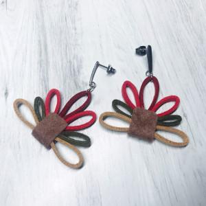 Kolczyki Kwiatki
