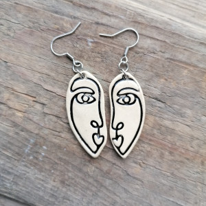 Kolczyki Picasso