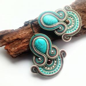 Kolczyki sutasz Turquoise Day