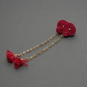 kolczyki sutasz z kwiatuszkami 6