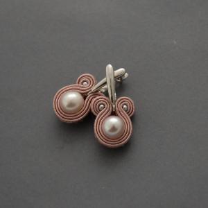 kolczyki sutasz z perłami 11