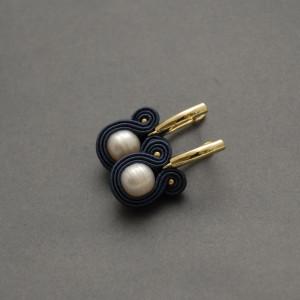 kolczyki sutasz z perłami 13