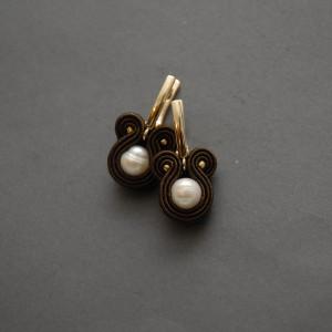 kolczyki sutasz z perłami 5
