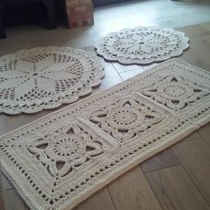 Komplet 3 dywanów