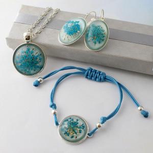 Komplet Biżuterii Aquatic 3 części