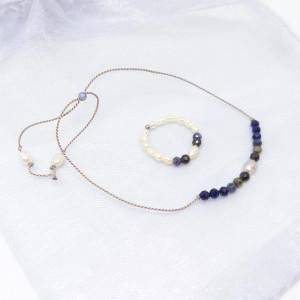 Komplet biżuterii bransoletka i pierścionek Queen