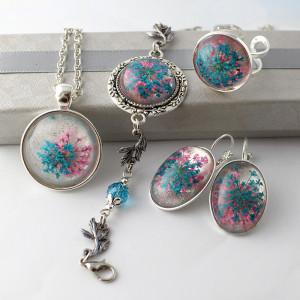 Komplet Biżuterii Frozen 4 części