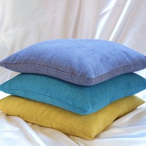 Komplet poduszek z łuską gryki i lawendą