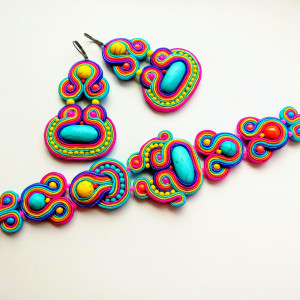 Komplet sutaszowy  Colorful