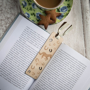 Koń drewno - zakładka do książki
