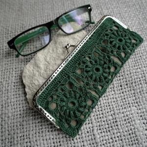 Koronkowe etui na okulary/piórnik #1#
