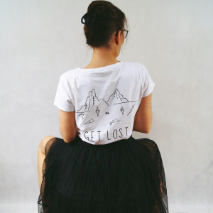 Koszulka Get lost