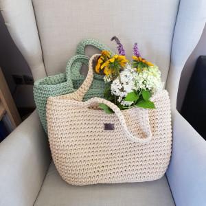 Koszyk na lato, torba duża