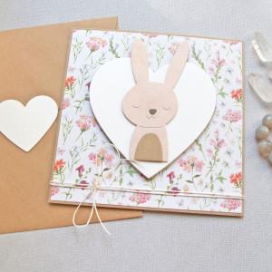 królisia grażynka - kartka na roczek, narodziny