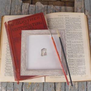 Książka miniaturka na zamówienie , prezent