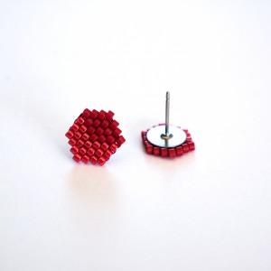 Kubiki - czerwone