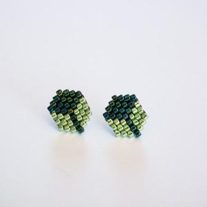 Kubiki - w zieleni