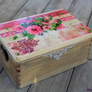 Kufer na pamiątki, zdjęcia, drobiazgi, prezent