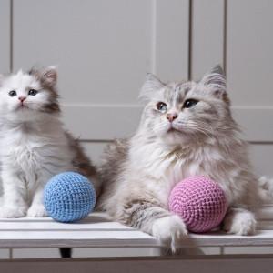 Kula Gigantula - duża piłka z kocimiętką dla kota