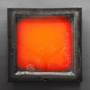 Kwadratowa patera wulkan 35 cm x 35 cm