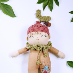 Lalka leśny skrzat-Dąbek