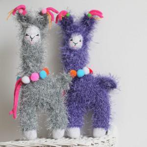 LAMA / zabawka handmade