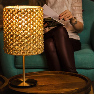 Lampa stołowa GOLDEN HAVEN
