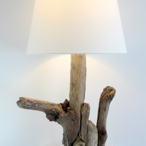 Lampa z drewna z morza nr 22 - Drogowskaz