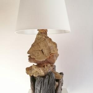 Lampa z drewna z morza nr 30 - Warowna