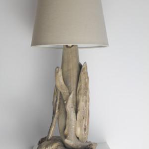 Lampa z drewna z morza nr 41 - Szuwary