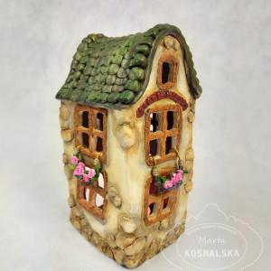 Lampion - Domek Ceramiczny